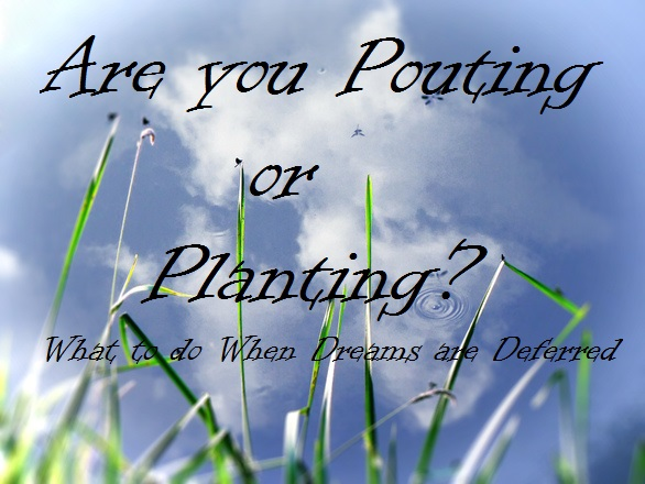 Are you Pouting or Planting? Part 1