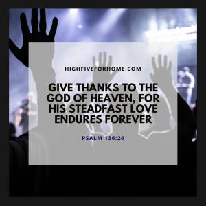 God's love endures