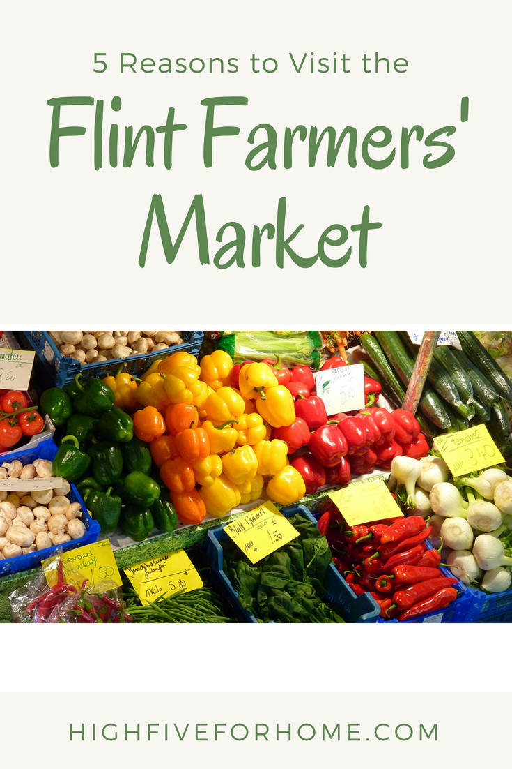 5 Reasons to Visit the Flint Farmers' Market-Genesee County Gems