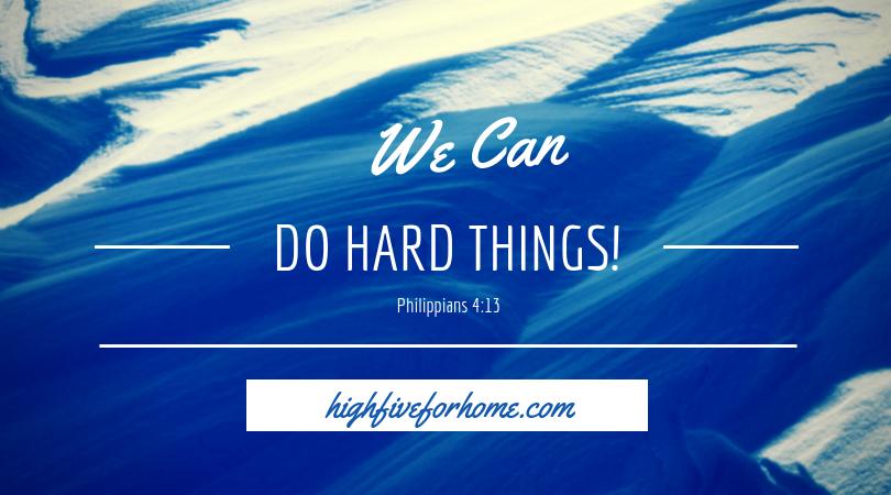 do hard things Philippians 4:13