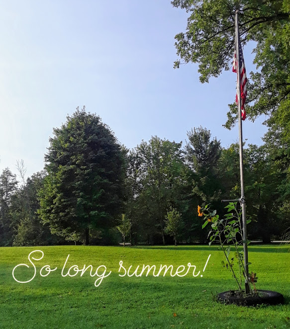 So long summer! Reflections and Lessons from my Summer of Joy
