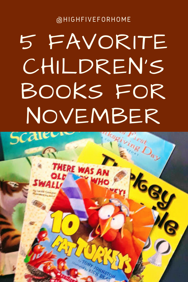 5 Favorite Picture Books to Read in November
